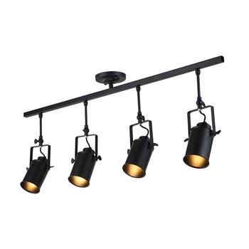 室内照明产业LED射灯黑色吸光的老式复古的风格