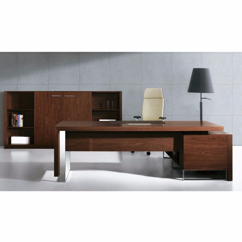 Top Quality L Shape Latest Director Office Table Designs