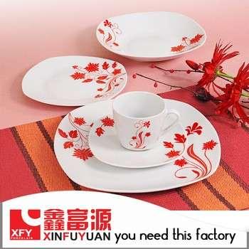 20pcs Square Shape Exclusive Dinnerwarefine Chinese Porcelain Dinner Set  sc 1 st  eWorldTrade & 20pcs Square Shape Exclusive Dinnerwarefine Chinese Porcelain ...