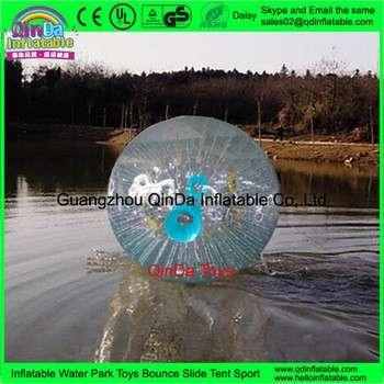 3米直径的PVC/TPU的巨型充气水上悠波球水仓鼠球