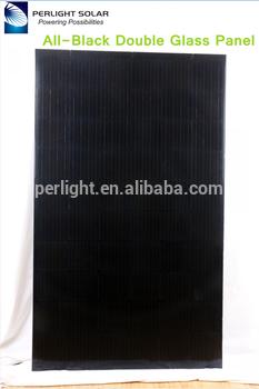 perlight免费设计BIPV 120w 150w 200w透明光伏太阳能板