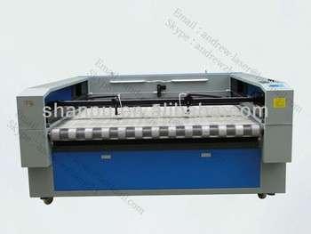布料/布料/玩具/家用纺织品自动送料激光切割机