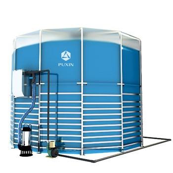 便携式组装沼气15m3牛粪处理