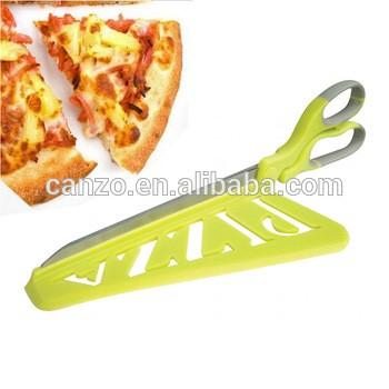 创意比萨饼剪刀,可拆卸厨房聪明比萨饼刀