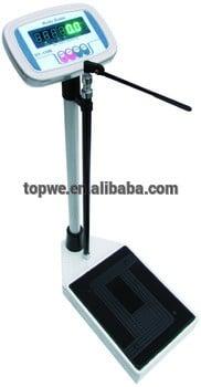 电子秤高度及重量测量机