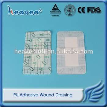Heaven Disposable Medical Sterile PU Adhesive Wound Dressing