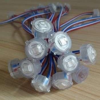 1 ws2811 20mm防水LED SMD5050 LED引脚点聚光灯