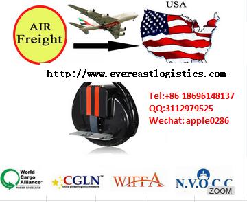 最佳航空货运运费从深圳到Malyasia的电动滑板车