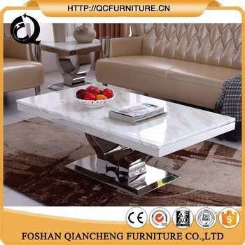 Modern Granite Top High Gloss Coffee