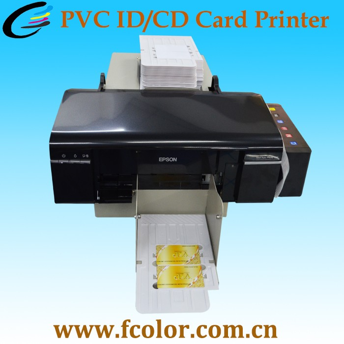 automatical plastic pvc id card printer machine for 100pcs pvc card printing - Plastic Card Printing Machine