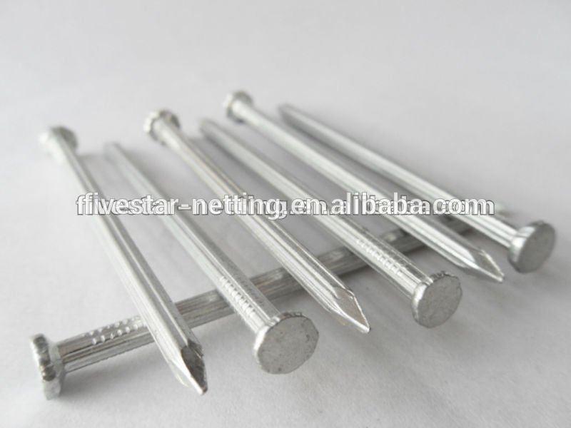 中国工厂硬化钢切割混凝土钉施工