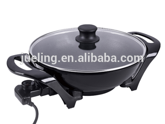 A-4 Fast Heat Round Griddle Electrical Wok Pan Electric Skillet