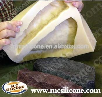 混凝土单板石材模具制作液体硅橡胶