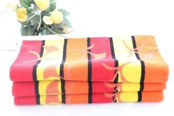 luxury style face towels with 100 Cotton for home environment