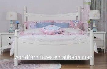采最新设计的床女孩单人或双人床单