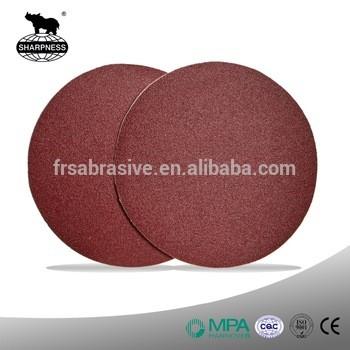 木质家具用硬质氧化铝粘磨砂盘/尼龙砂打磨盘