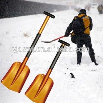 """8.3""""铝伸缩汽车雪铲,儿童花园手工具与t握"""