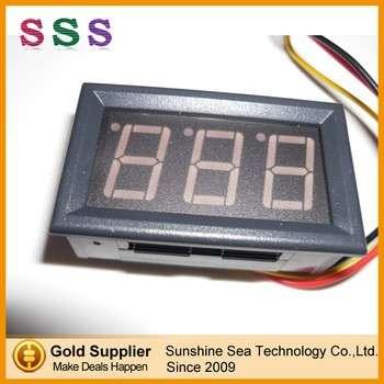"""三位红0.56 """";4.5-30v LED电压数字直流电压表显示面板"""