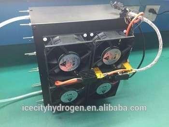 BCH 2000w 36v金属双极板质子交换膜堆的自增湿和空气冷却的氢燃料电池堆