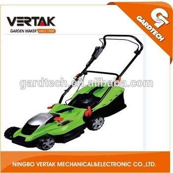 2015 new model red electric lawnmowers 1100w