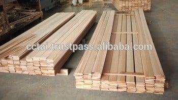 skirting nyatoh木材