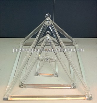 声音治愈石英晶体歌唱金字塔一套