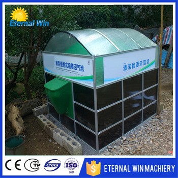 Full Biogas Machine To Generate Electricity/ Small Biogas Plant
