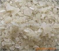 无铁片状硫酸铝