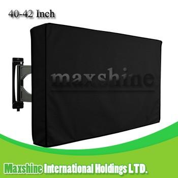 户外黑色耐候通用保护40 - 42英寸LCD,LED,电视覆盖