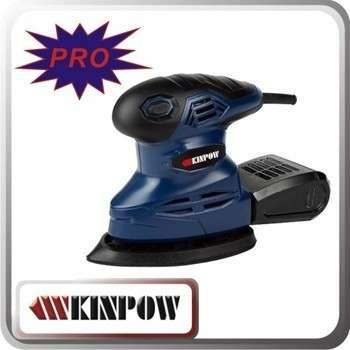kinpow 105w / 180w / 200w砂光机鼠标随机轨道砂光机砂掌上电
