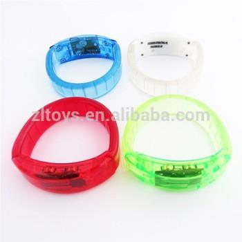 闪光LED手镯发光LED手镯新设计的闪光管手镯