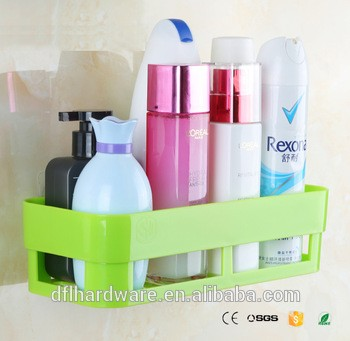 绿色塑料厨房浴室储物架浴室组织者