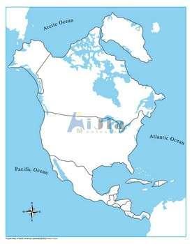 蒙台梭利未标注北美国控制图