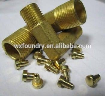高质量ISO认证的铜小螺母机械零件