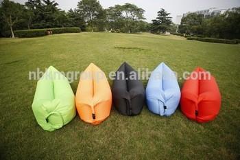 充气植绒豆袋沙发充气充气沙发椅
