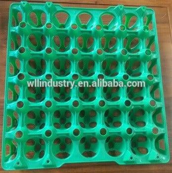 工厂价格塑料孔板/塑料蛋盘高质量出售