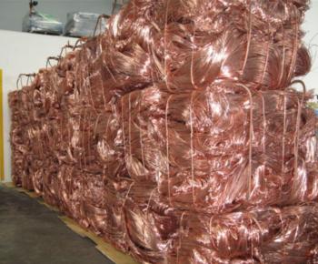 出口纯铜线废料