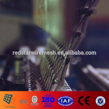 180、60、45、30度钩簧钢丝编织网通过ISO9001国际标准化组织