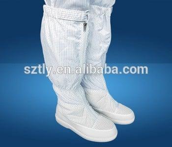 2017热的工业洁净室防静电ESD workerwear靴子靴子