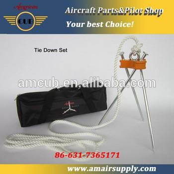 飞机降落架装有一个特殊的救援杆。