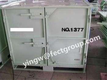 出口日本合成橡胶运输用粉末涂层钢容器