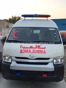 Toyota Hiace High Roof 2.7L Petrol Ambulance