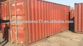 天津便宜的用新的20英尺、40英尺的集装箱出售二手集装箱