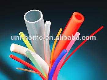 ROHS遵从OEM薄壁硅橡胶套管彩色管