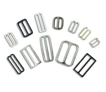 优质锌合金平板可调金属滑动调节器镍板黑铜板
