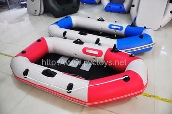 充气渔船,带桨划艇