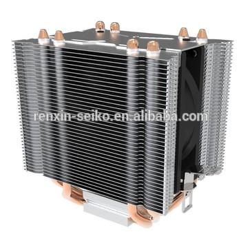 4u 110w热管散热器为英特尔和AMD的CPU