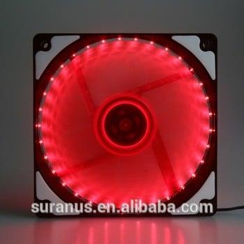 suranus l12025f 12V直流无刷的LED套件低噪音PC机箱散热风扇制造商