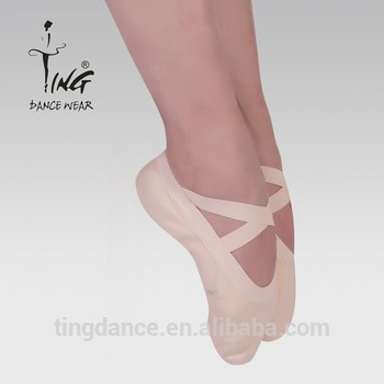 热销的折叠canavs芭蕾舞鞋分裂唯一
