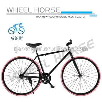 """700c """";流行的fixie自行车天津单速"""